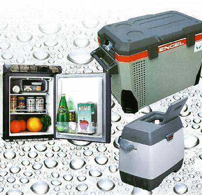 高い信頼性をもつ車載・舶用冷凍冷蔵庫