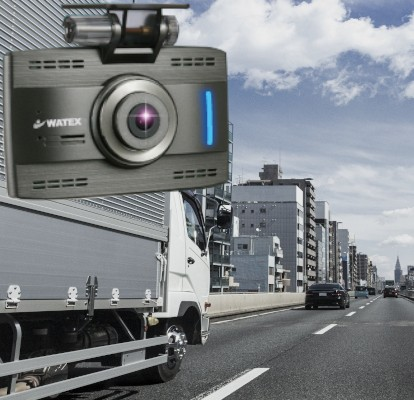 <p>運転中、駐車中の事故やあおり運転を映像と音声で記録</p>