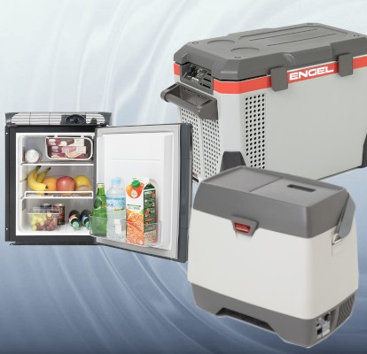 <p>高い信頼性をもつ車載・舶用冷凍冷蔵庫</p>